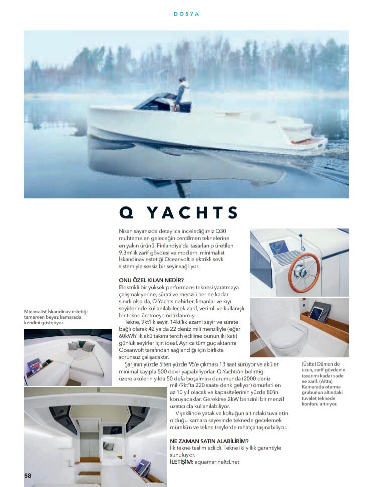Motor Boat & Yachting Q Yacht May 2019